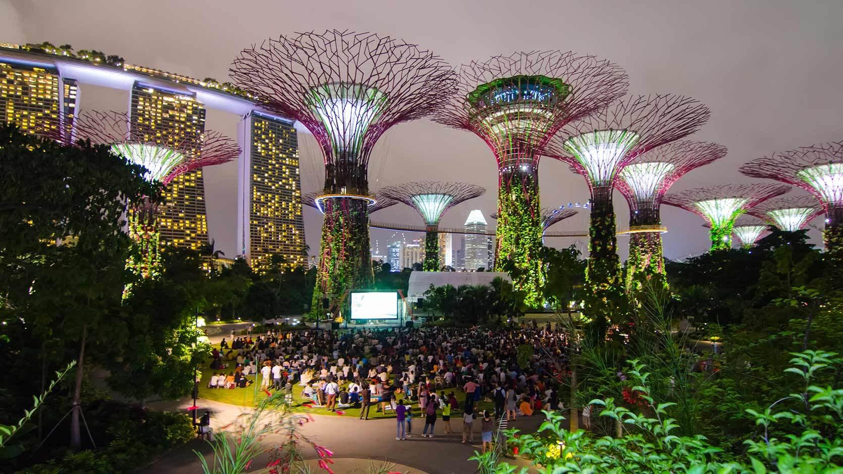 Astera garden by the bay singapore for Home garden design singapore